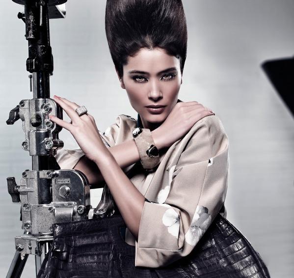 Fransız model Kıvanç Tatlıtuğ ile reklam filminde oynadı!