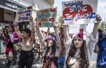 Protest Femen w Tel Awiwie