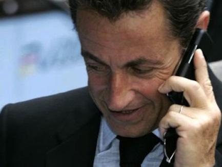 Nicolas Sarkozy dîne avec les joueurs du PSG