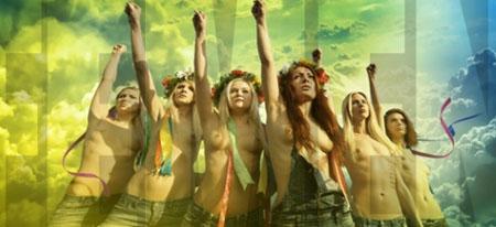 Una filial del grupo activista Femen, quienes protestan con consignas pintadas sobre sus torsos desnudos, se instalará en nuestro país en las próximas semanas.