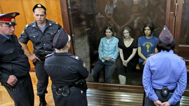 Soud s punkerkami Pussy Riot