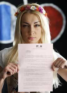 Inna Shevshenko. | Reuters