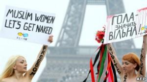 Muchas veces las protestas terminan en arrestos. Hasta vivieron situaciones con amenazas de ataques sexuales.