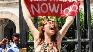 Femen-Aktivistin Josephine W.