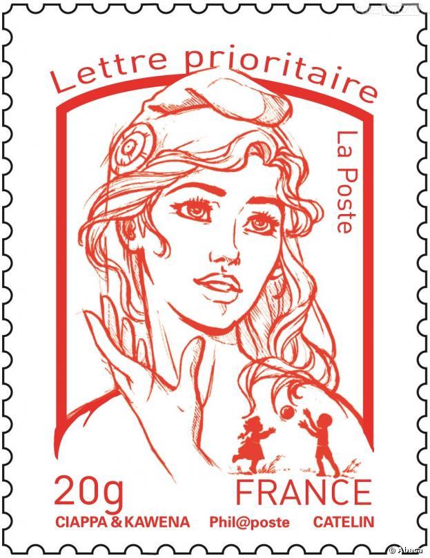 Le nouveau timbre Marianne, inspiré d'une Femen, déjà boycotté