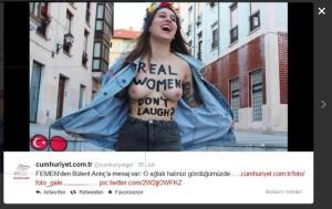 Lachen, Trken, Femen, Frauenrechtsorganisation