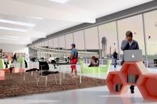 Visualisierung aus einer Studie der TU-Berlin zum Neubau der Zentral- und Landesbibliothek