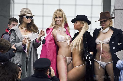 Chi si nasconde dietro al movimento Femen?