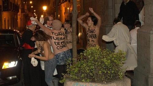Femen-Madrid