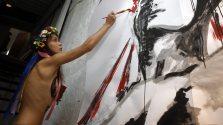 hat die fr ihre radikalen Proteste bekannte ukrainische Frauengruppe Femen in Paris ...