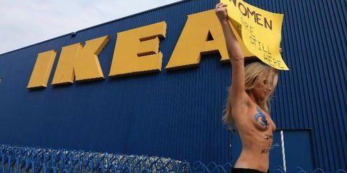 Les Femen à l'assaut d'Ikea contre son autocensure en Arabie saoudite