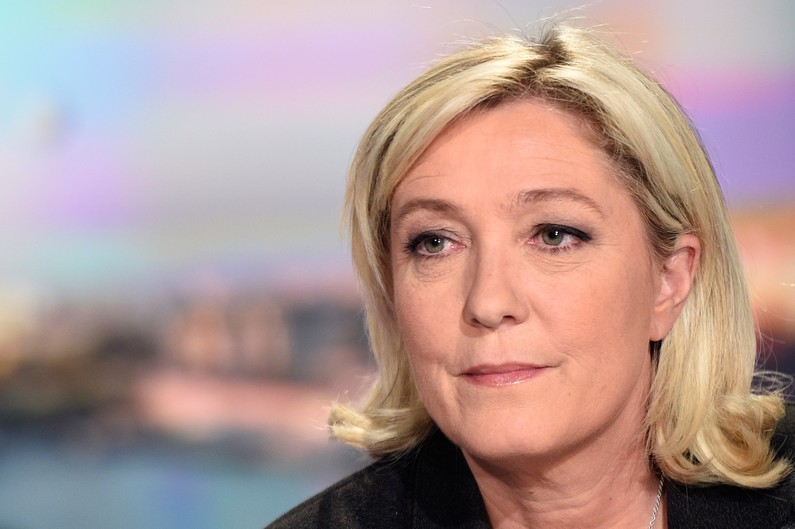 Marine Le Pen le 9 avril 2015.