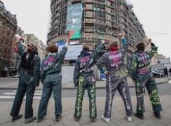 Les ex-Femen belges escaladent le SPF Intérieur