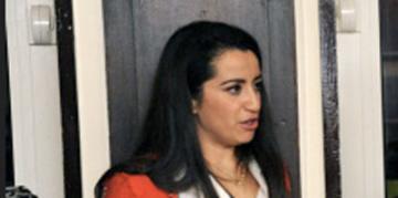 Lydia Guirous, prsidente de lassociation Future au Fminin