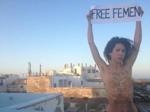 Les Femen investissent le Maroc
