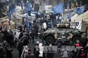 Tnh hnh Ukraine ang c din bin rt phc tp. nh minh ha. (Ngun: AFP/TTXVN)