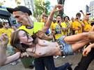 OKSANA AKOV. Tiadvacetilet lenka Femen