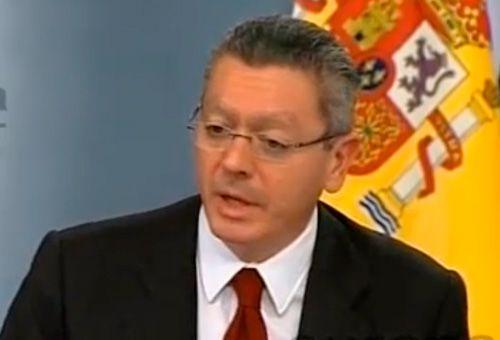Ministro Alberto Ruiz Gallardón