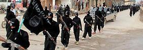 IS-Kmpfer in Syrien.